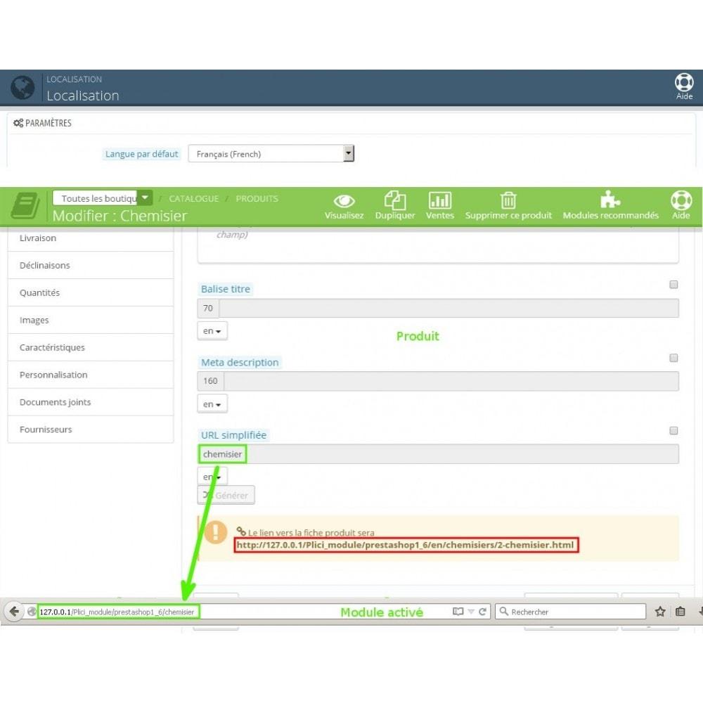 module - URL & Redirections - Url cms produits catégories modifier - 10