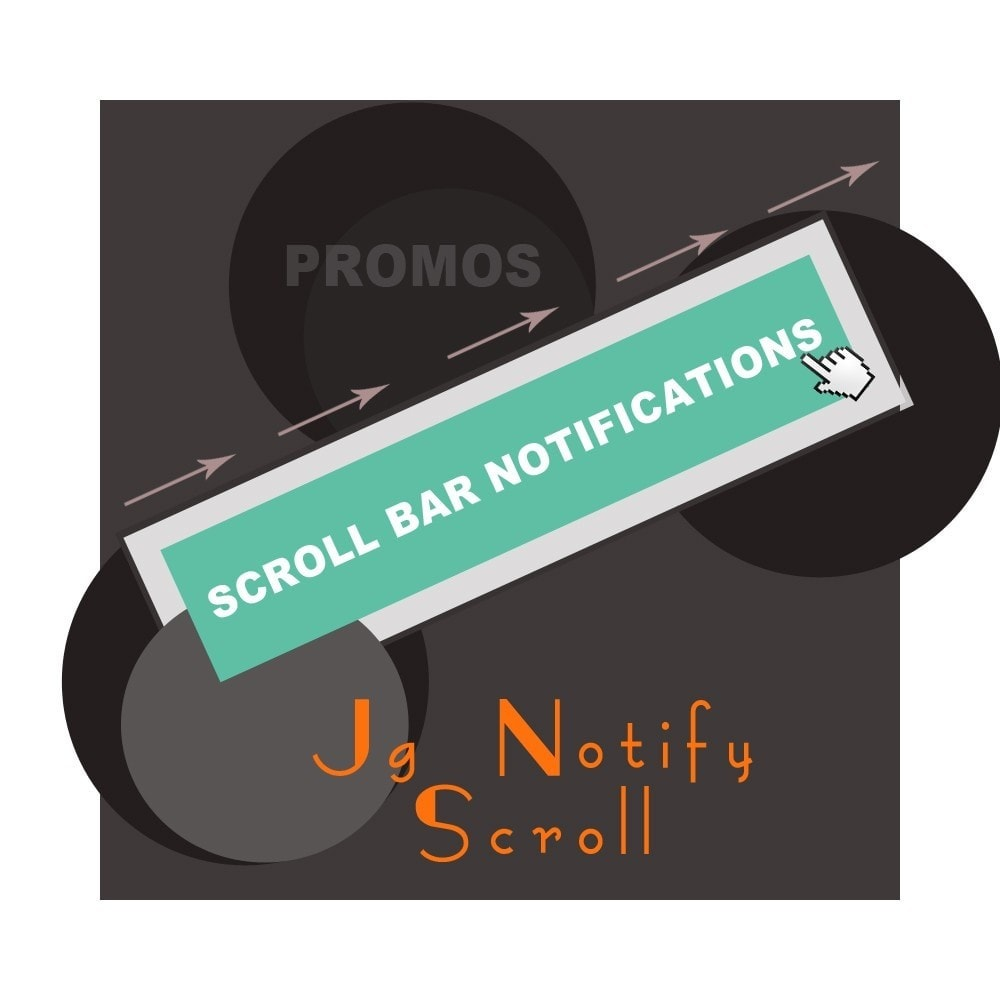 module - Blocks, Reiter & Banner - Jg Notify Scroll (bar notifications) - 1