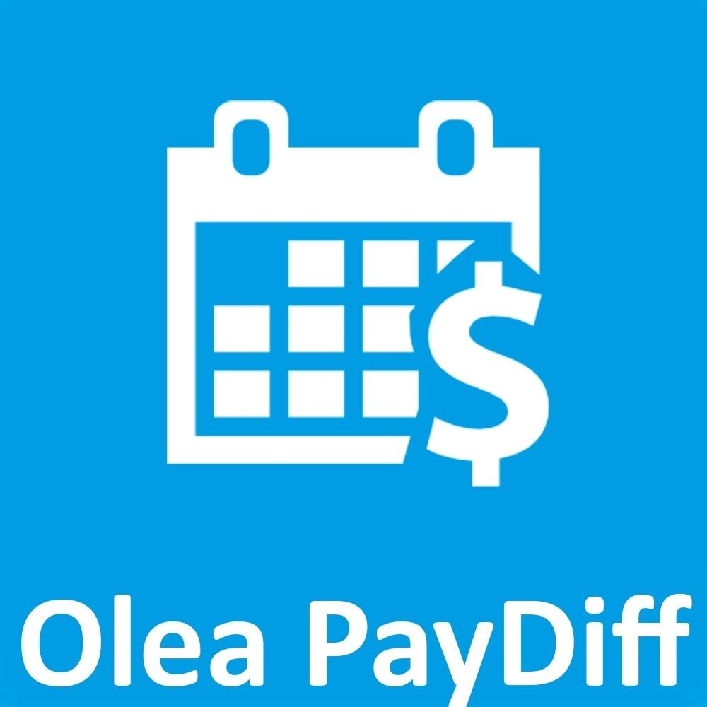 module - Otros métodos de pago - OleaPaydiff - Deferred payments to end of month - 1