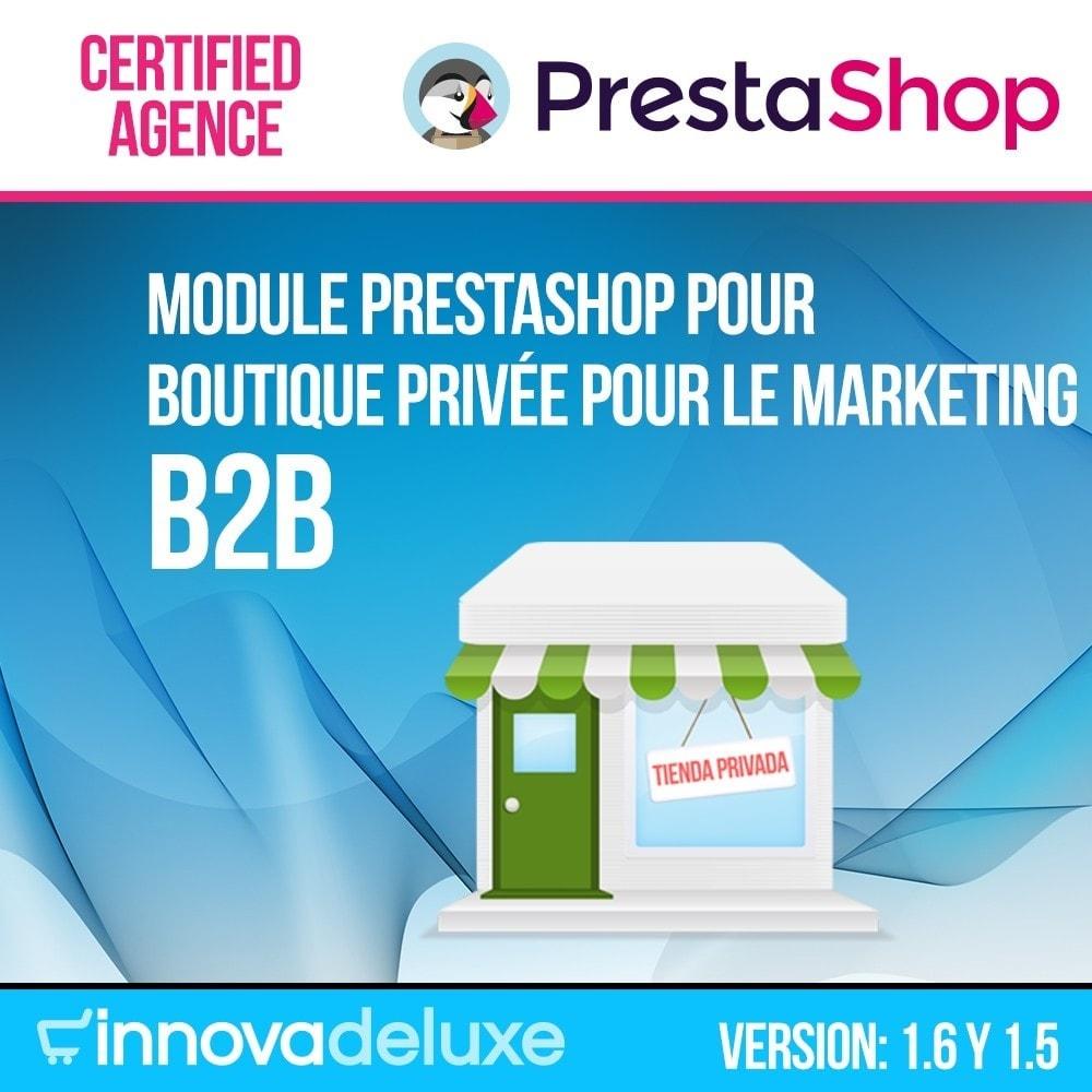 module - B2B - Boutique Privée pour le marketing B2B - 1