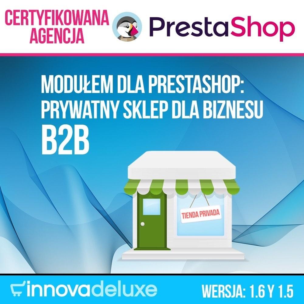 module - B2B - Prywatny Sklep dla biznesu B2B - 1