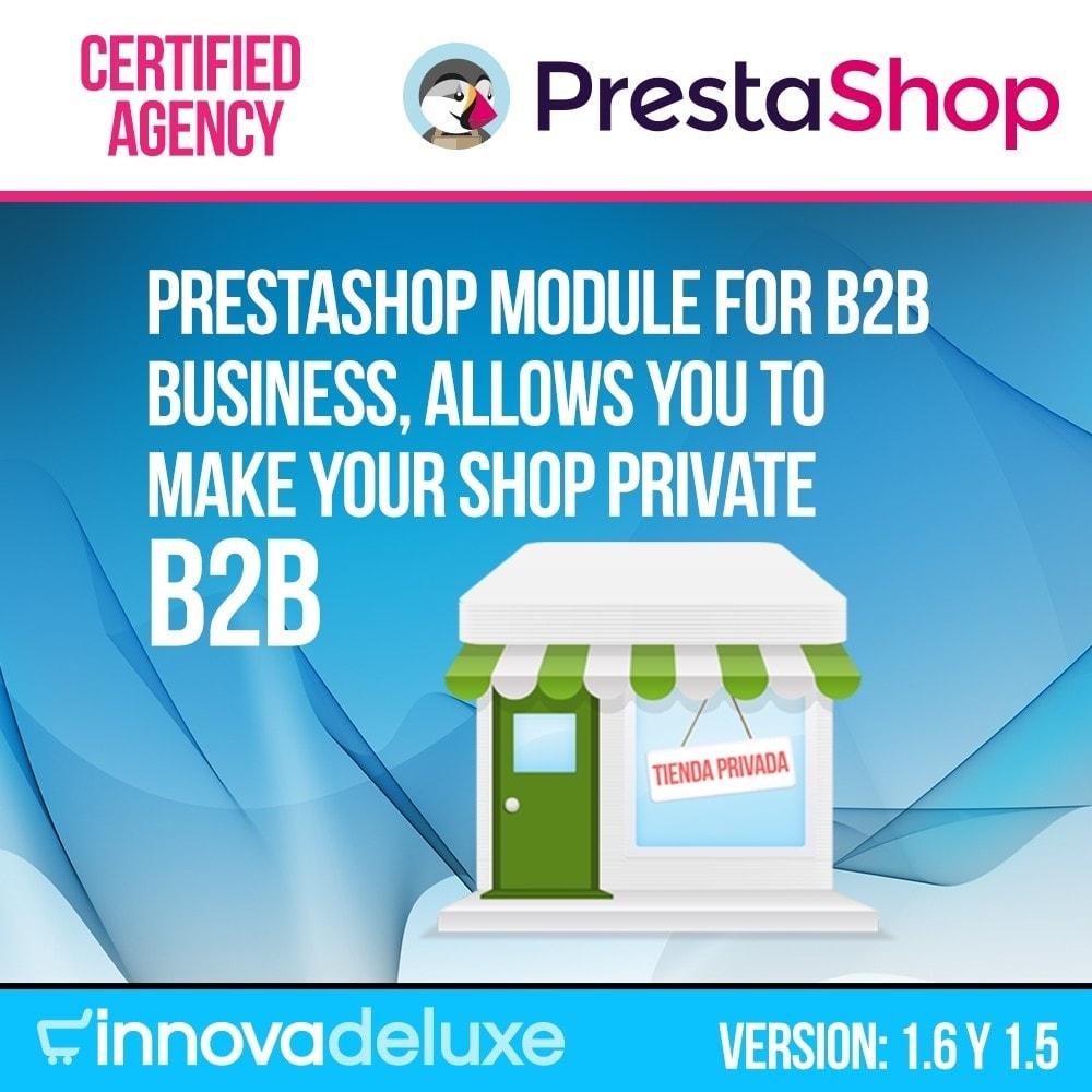 module - B2B - Private Shop module for B2B business - 1