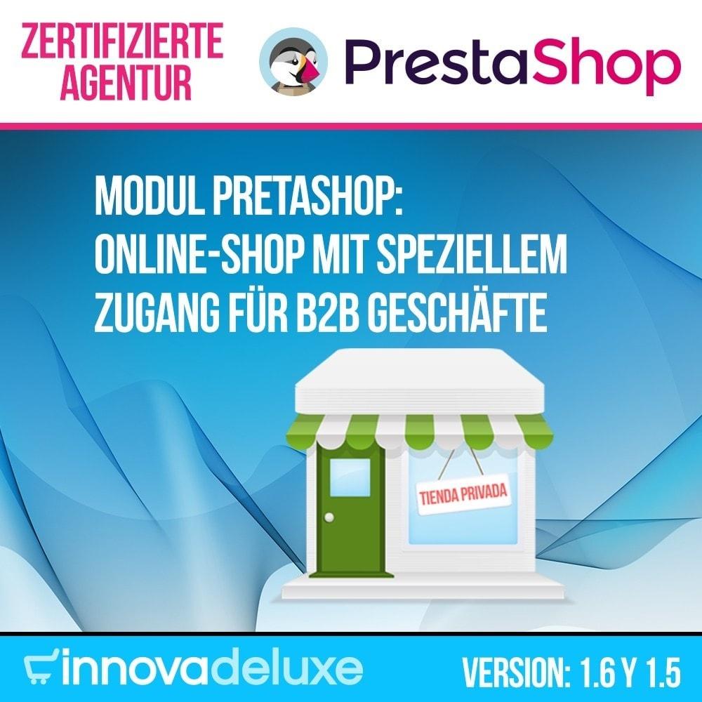 module - B2B - Online-Shop mit speziellem Zugang für B2B Geschäfte - 1