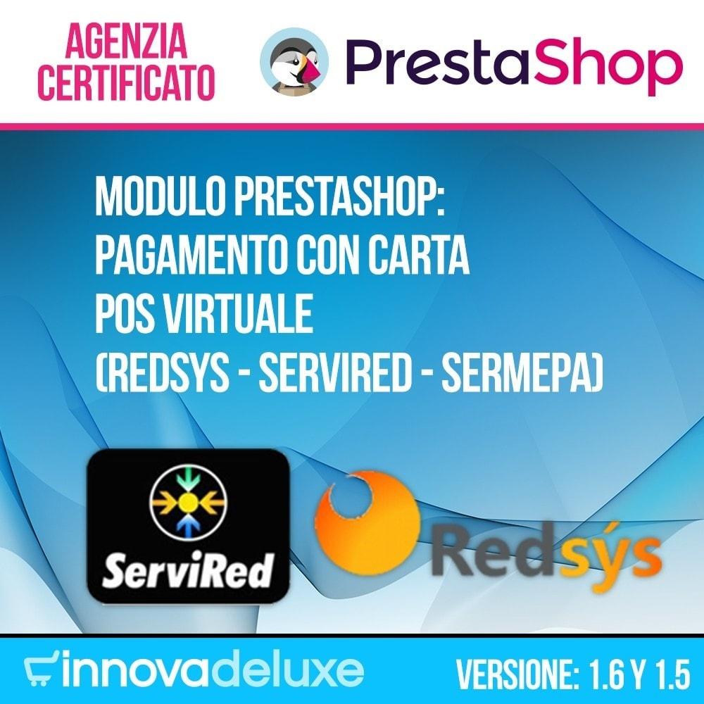 module - Pagamento con Carta di Credito o Wallet - Pagamento con carta POS virtuale (REDSYS SHA256) - 1