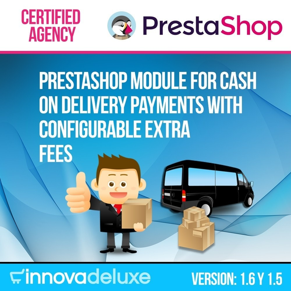 module - Оплата при доставке - COD - Cashdelivery with fee (ranks and restrictions) - 1