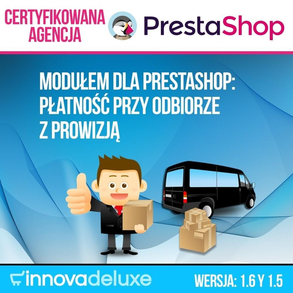 module - Płatność przy obiorze - COD - Cashdelivery with fee (ranks and restrictions) - 1