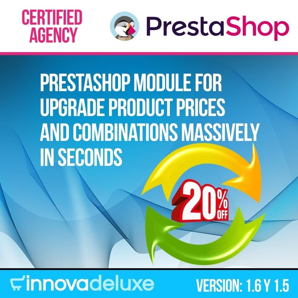 module - Snelle & seriematige bewerking - Massive Price Update - 1