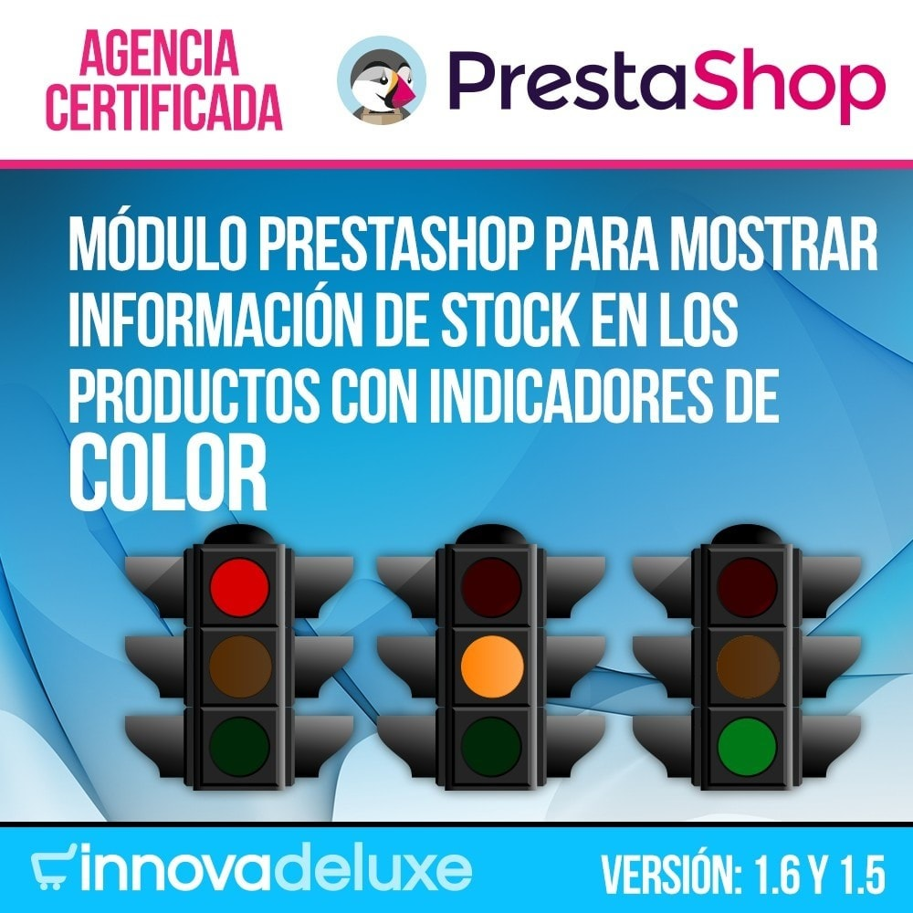 module - Informaciones adicionales y Pestañas - Indicador de stock disponible en ficha de producto - 1