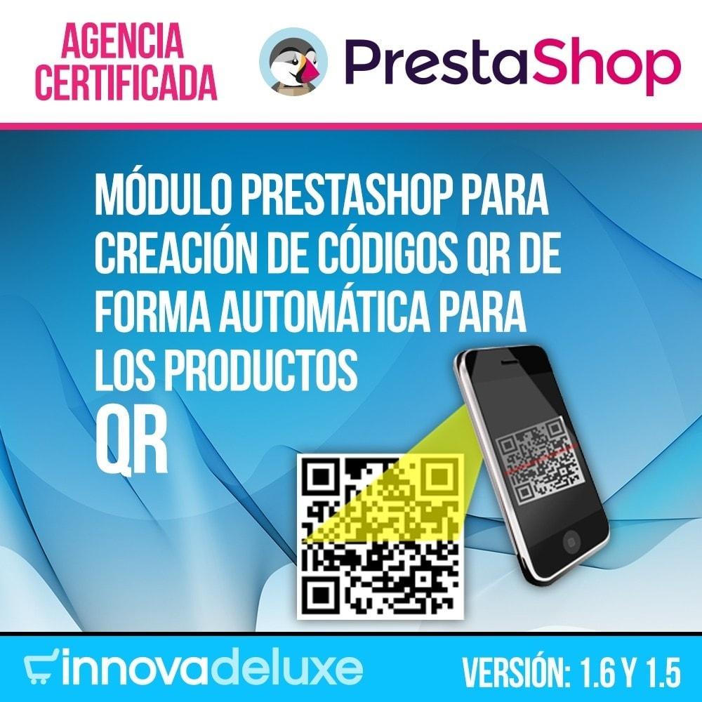 module - Dispositivos móviles - Codigos QR en la ficha de producto (BIDI) - 1