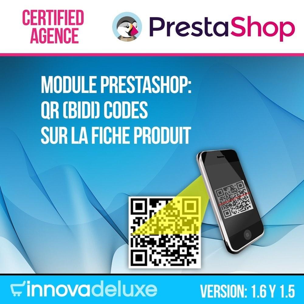 module - Mobile - QR Codes sur la fiche produit (BIDI) - 1