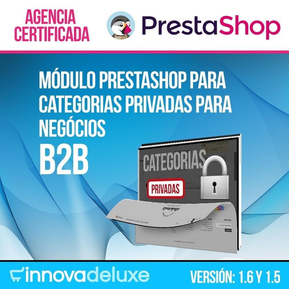 module - B2B - Categorias privadas para negócios b2b - 1
