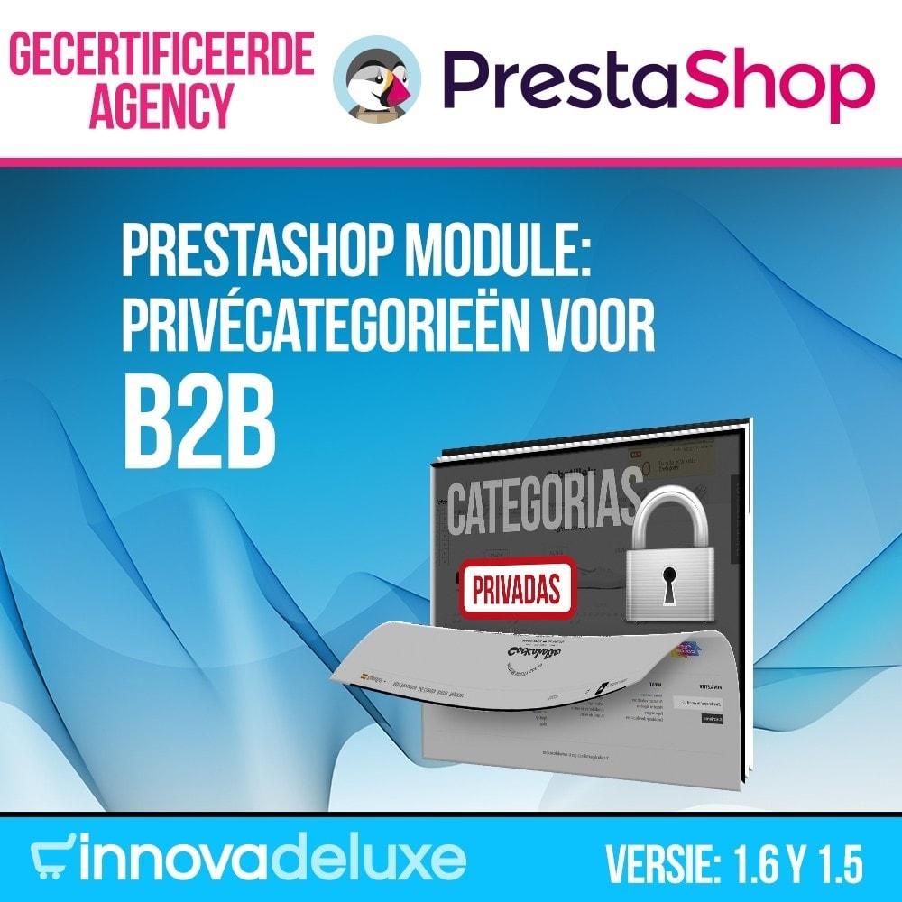 module - B2B - Privécategorieën voor B2B - 1