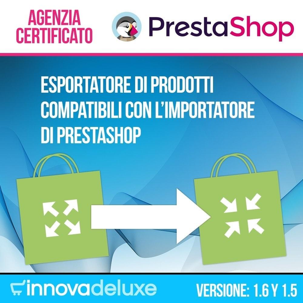 module - Data Import & Export - Esportatore di prodotti compatibili con Prestashop - 1