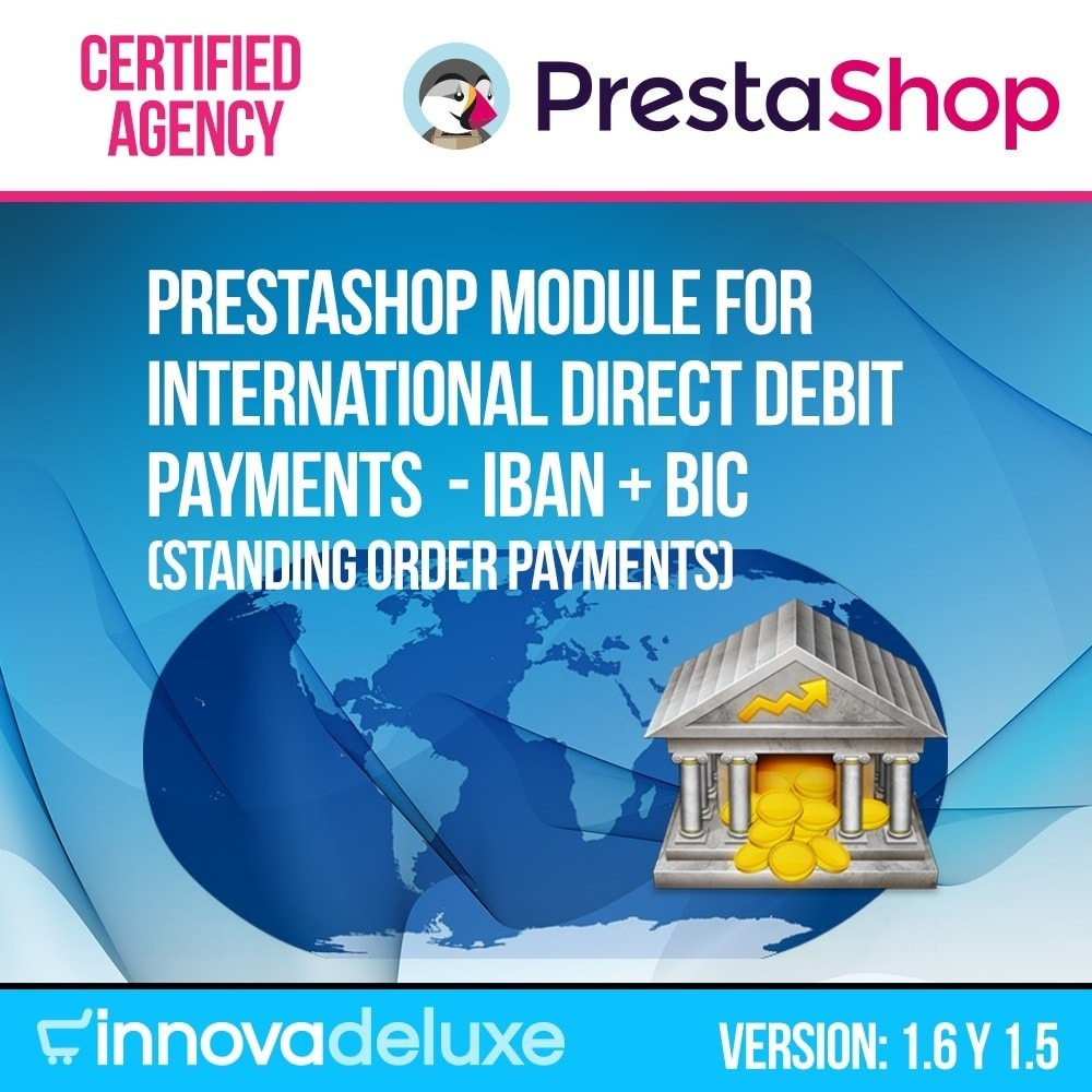 module - Bank Transfer Payment - International Direct Debit Payment - 1