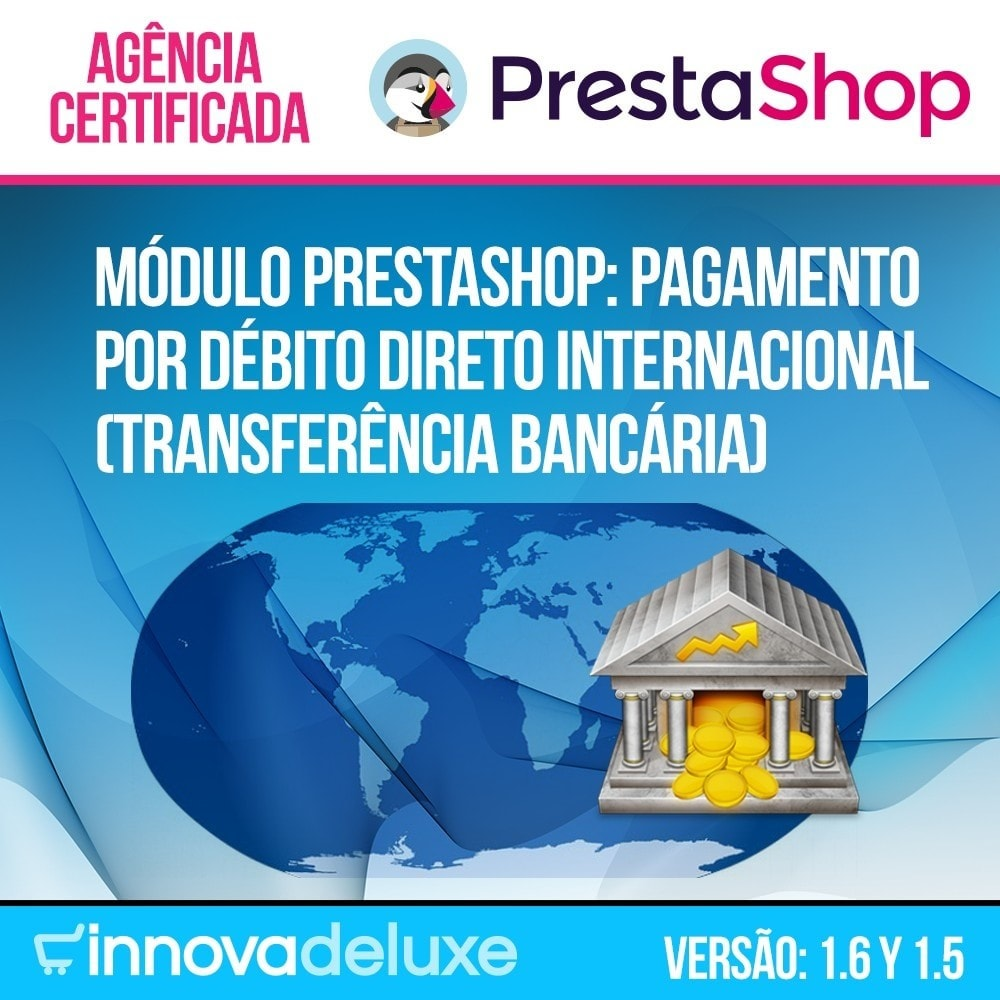 module - Pagamento por Transferência Bancária - Pagamento por Débito Direto Internacional - 1