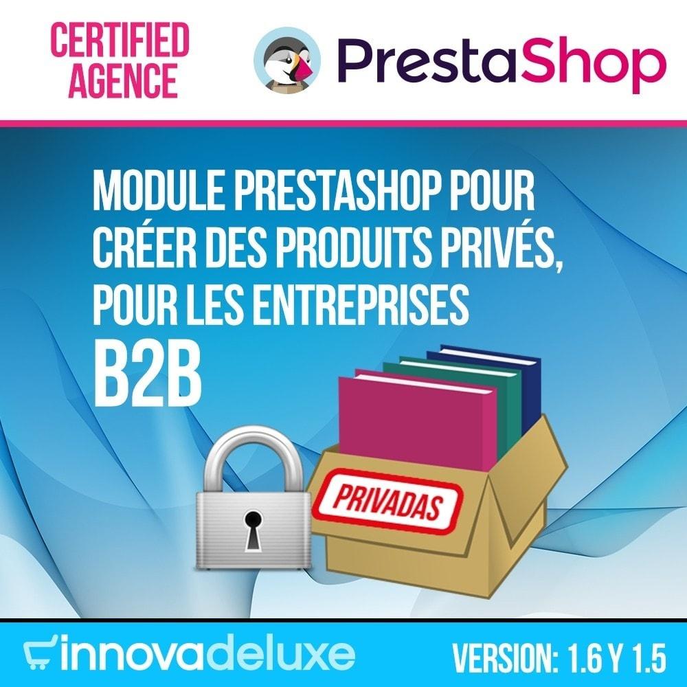 module - B2B - Produits privés pour le commerce B2B - 1
