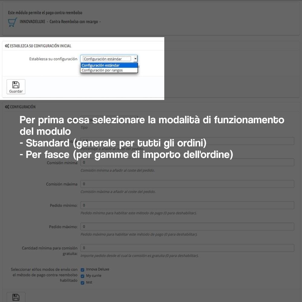module - Pagamento alla Consegna (in contrassegno) - Pagamento in contrassegno con supplemento - 2