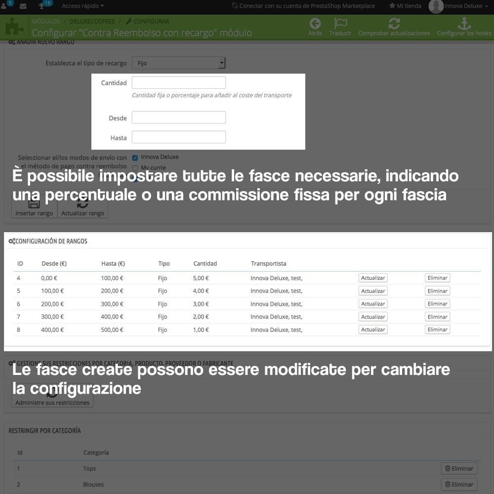 module - Pagamento alla Consegna (in contrassegno) - Pagamento in contrassegno con supplemento - 7