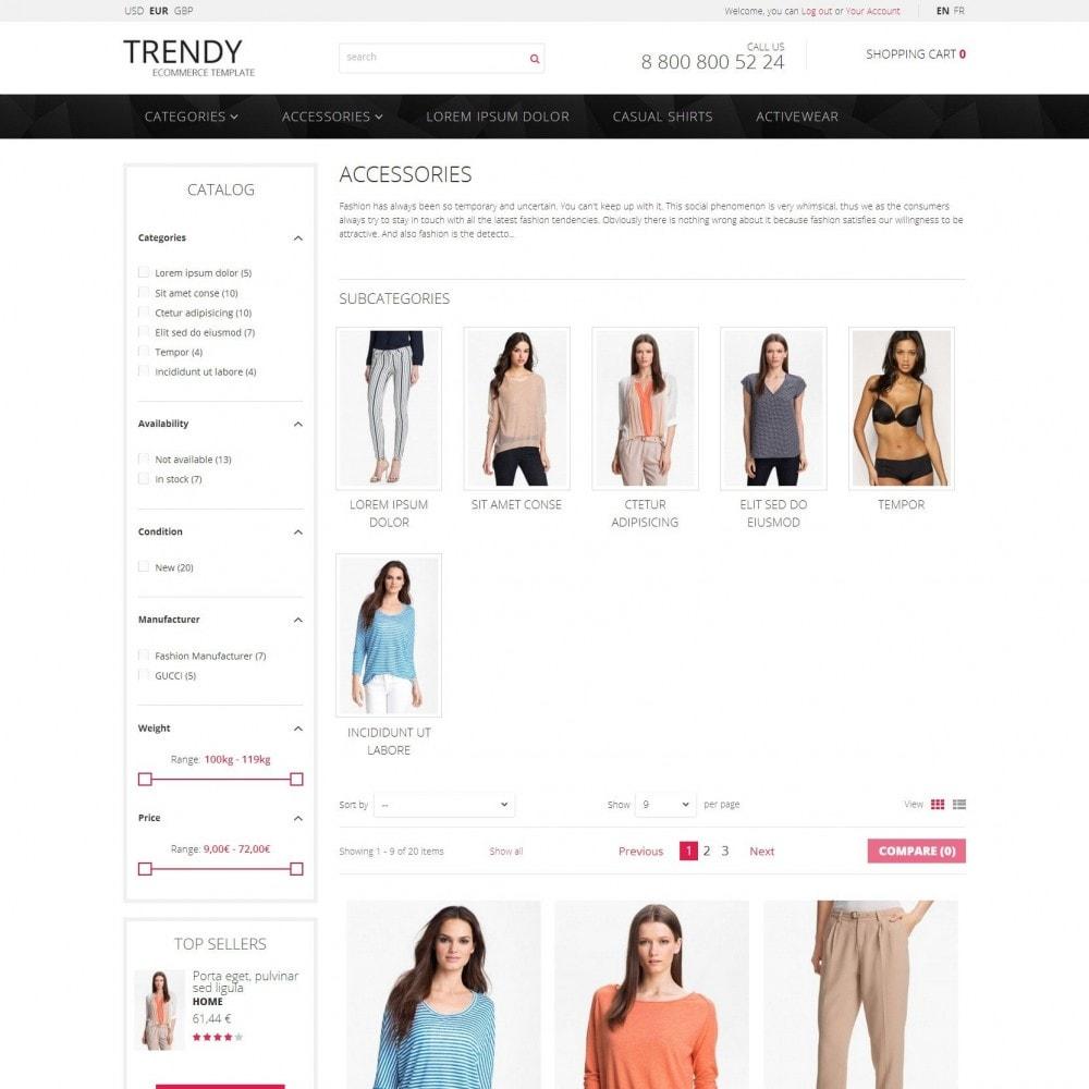theme - Mode & Chaussures - Trendy - Vêtements de Magasins de Mode Sale - 3