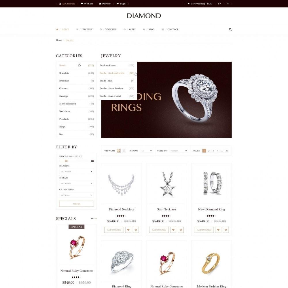 theme - Bijoux & Accessoires - Diamant - De Magasin de Bijoux - 3