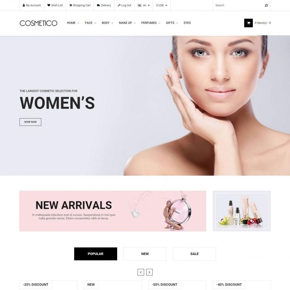 theme - Santé & Beauté - Cosmetico - Cosmétiques Magasin - 1
