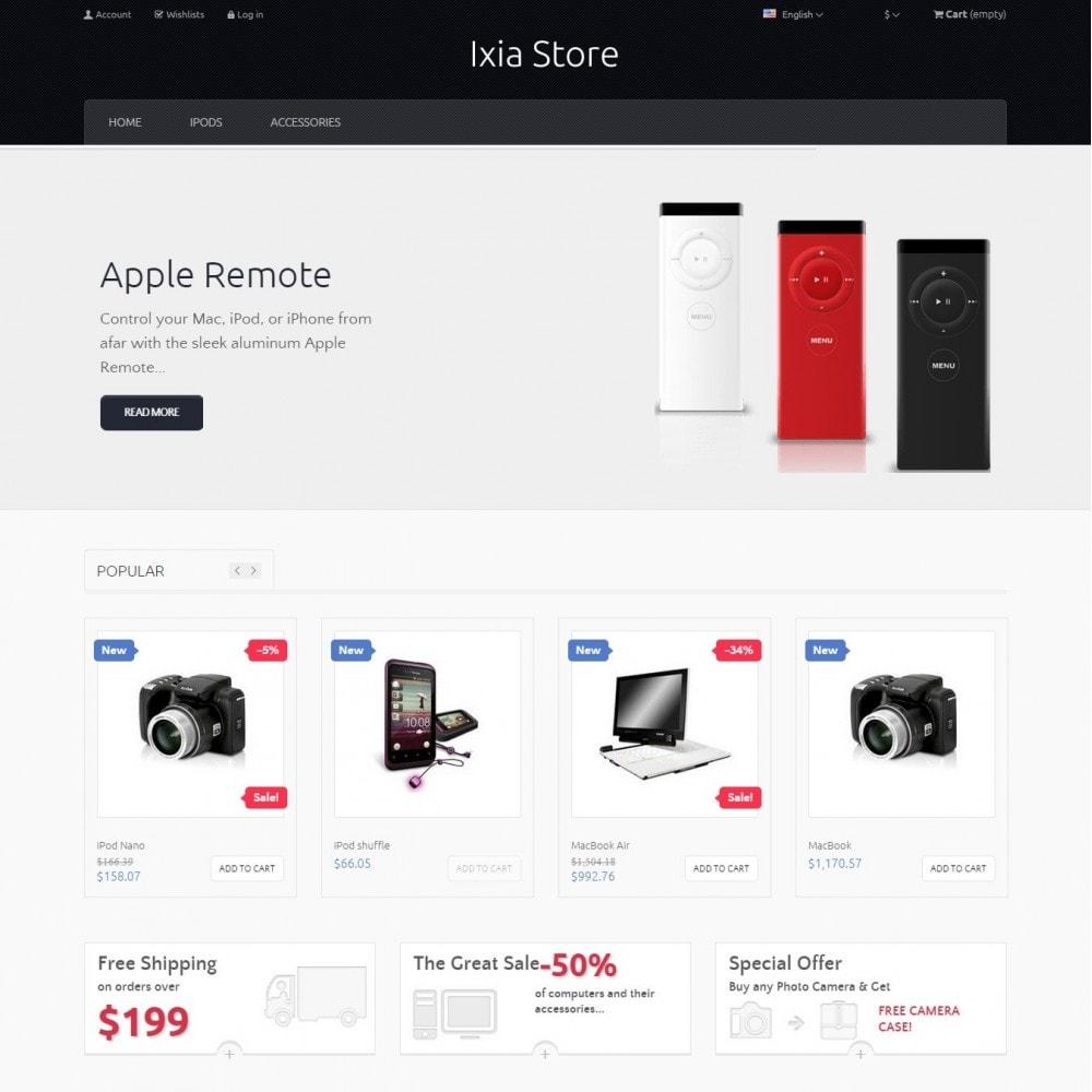 theme - Electronique & High Tech - Ixia - Hi-tech Boutique - 3
