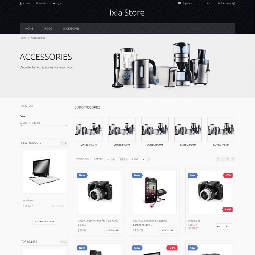 theme - Electronique & High Tech - Ixia - Hi-tech Boutique - 4