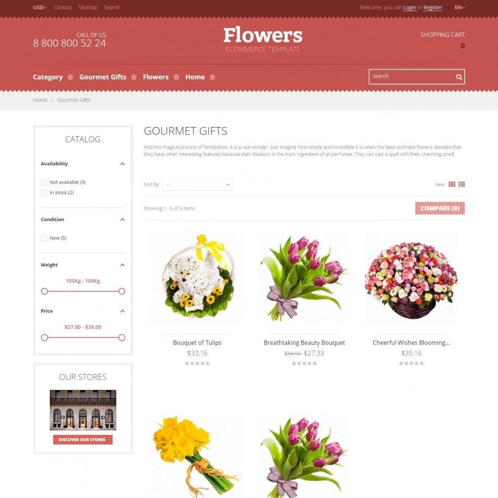 theme - Cadeaux, Fleurs et Fêtes - Floweris - Fleurs Boutique - 3