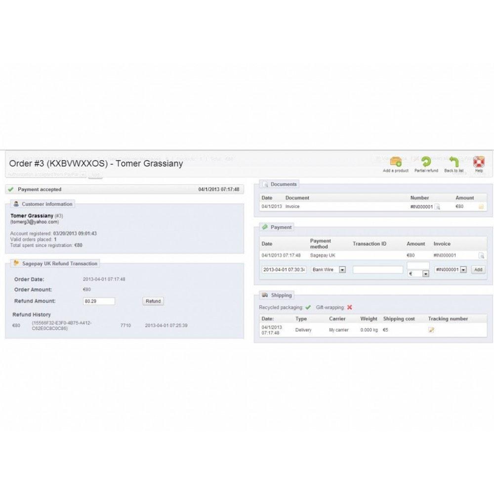 module - Pago con Tarjeta o Carteras digitales - Sage Pay (Opayo) - 4