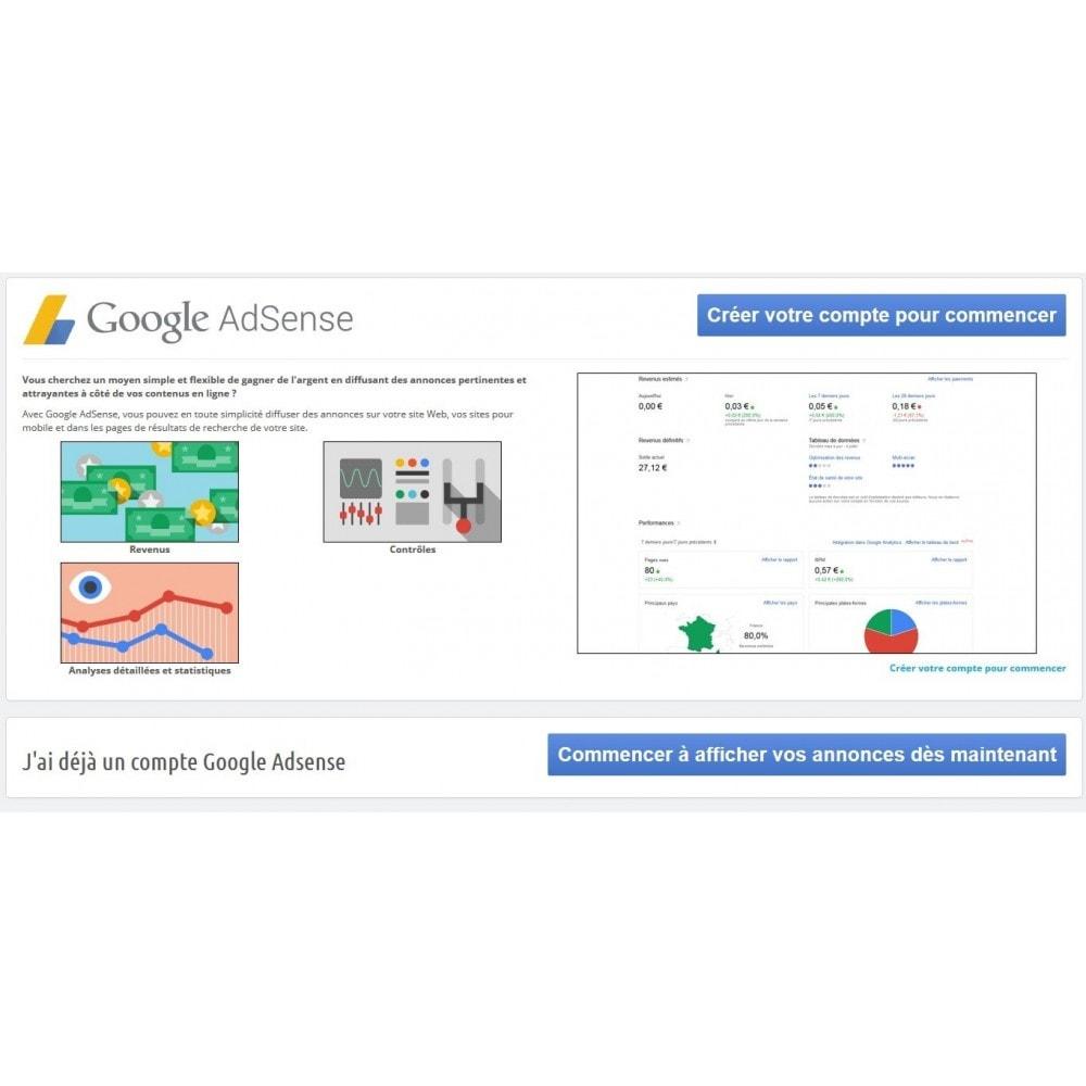 module - Płatne pozycjonowanie & Afiliacja - Google Adsense Ads - 1