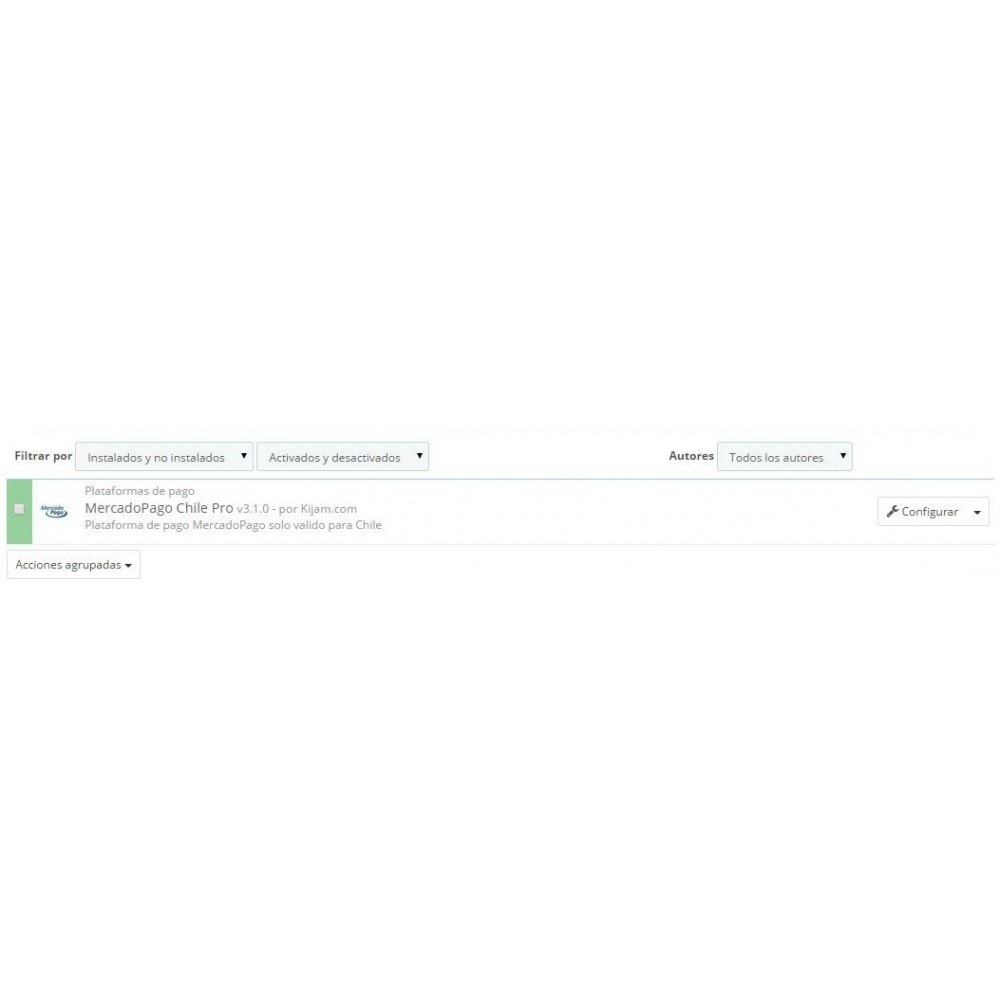 module - Pago con Tarjeta o Carteras digitales - MercadoPago Chile Pro - 1