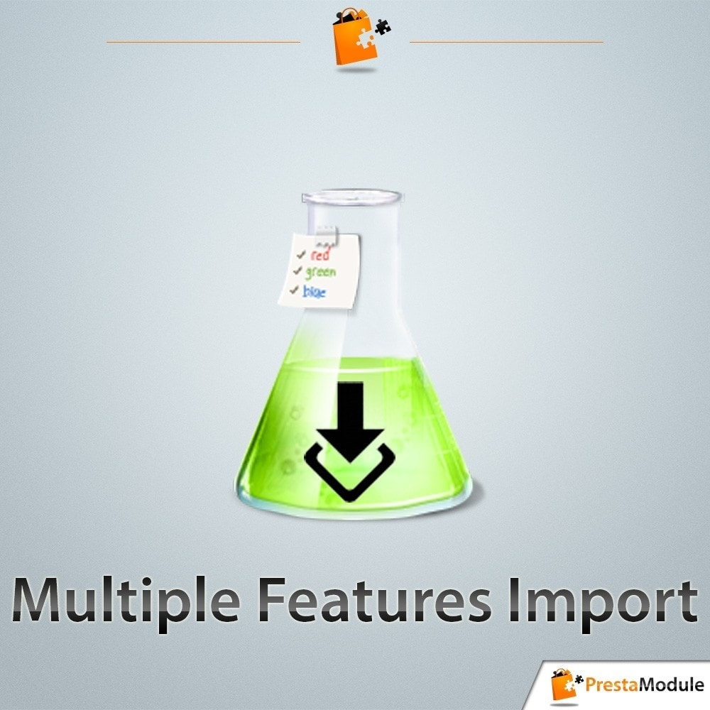 module - Importeren en Exporteren van data - Multiple Features Import - 1
