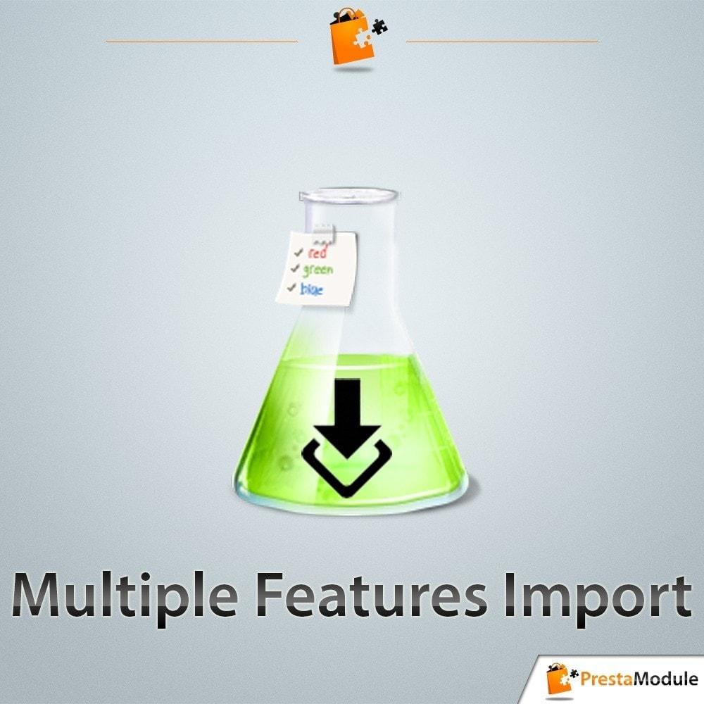 module - Import & Export de données - Multiple Features Import - 1