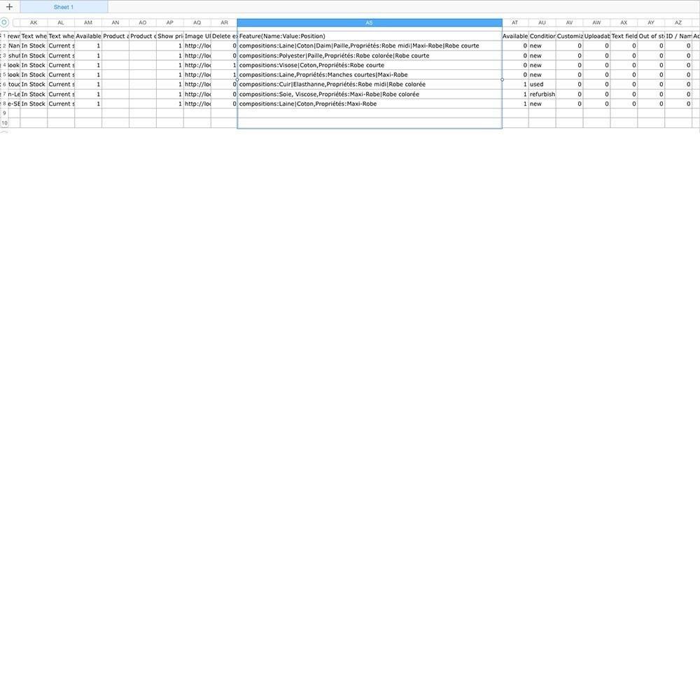 module - Import & Export de données - Multiple Features Import - 4