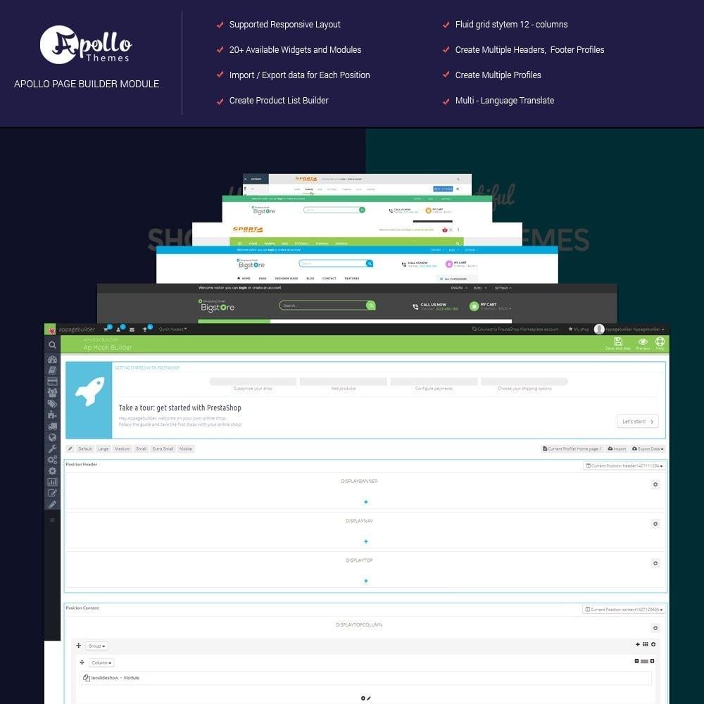 module - Personalizzazione pagine - Ap Page Builder - 1
