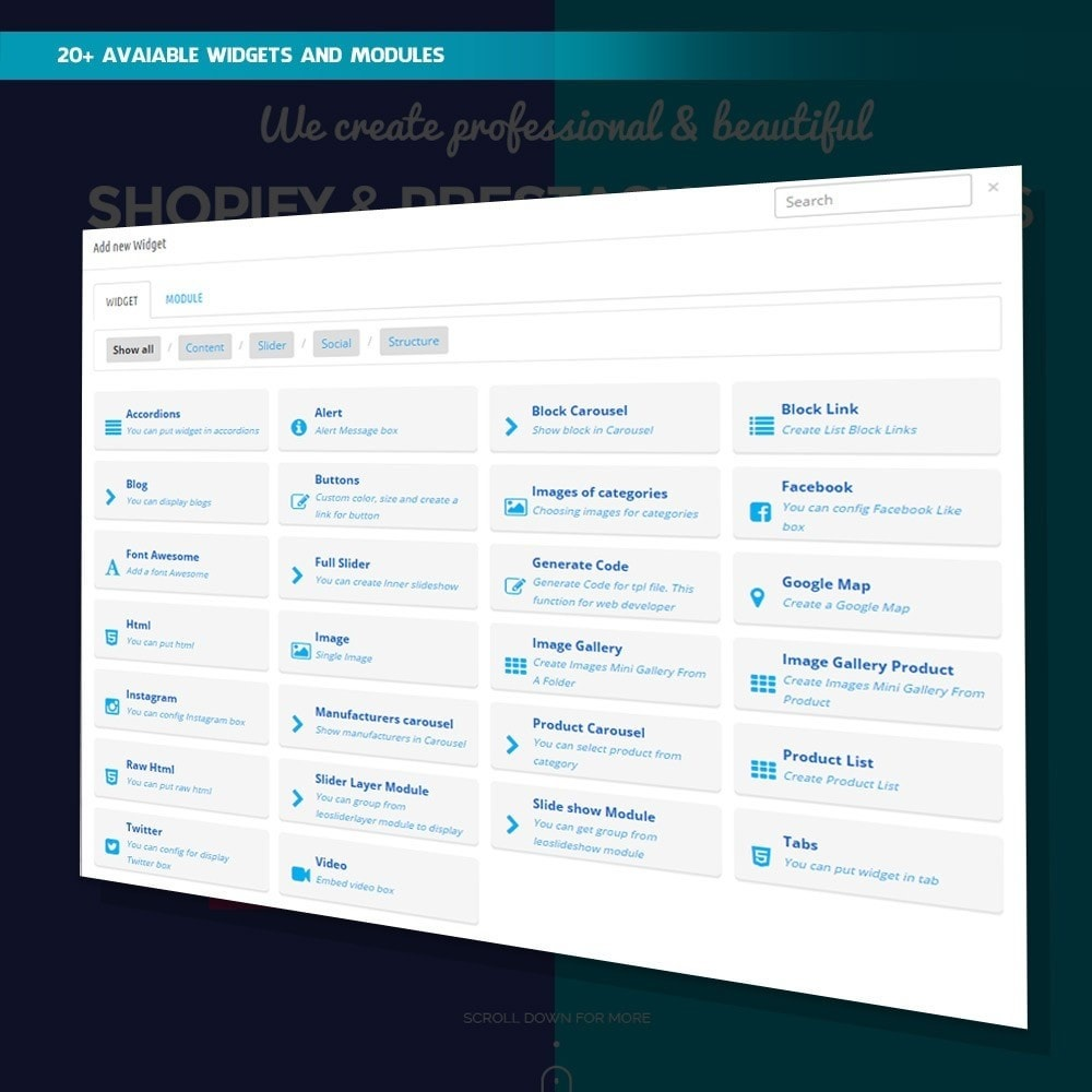 module - Page Customization - Ap Page Builder - 2