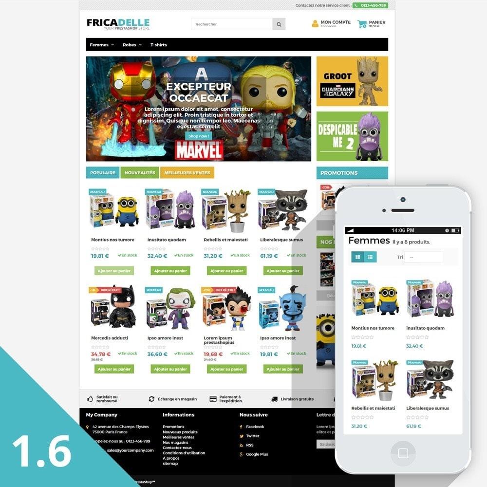 theme - Kinderen & Speelgoed - Fricadelle Responsive - 2