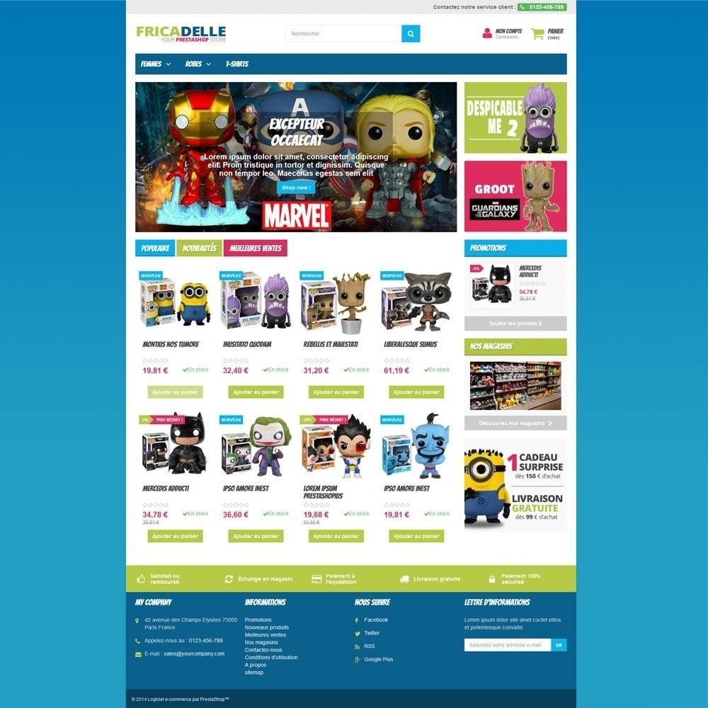 theme - Kinderen & Speelgoed - Fricadelle Responsive - 3