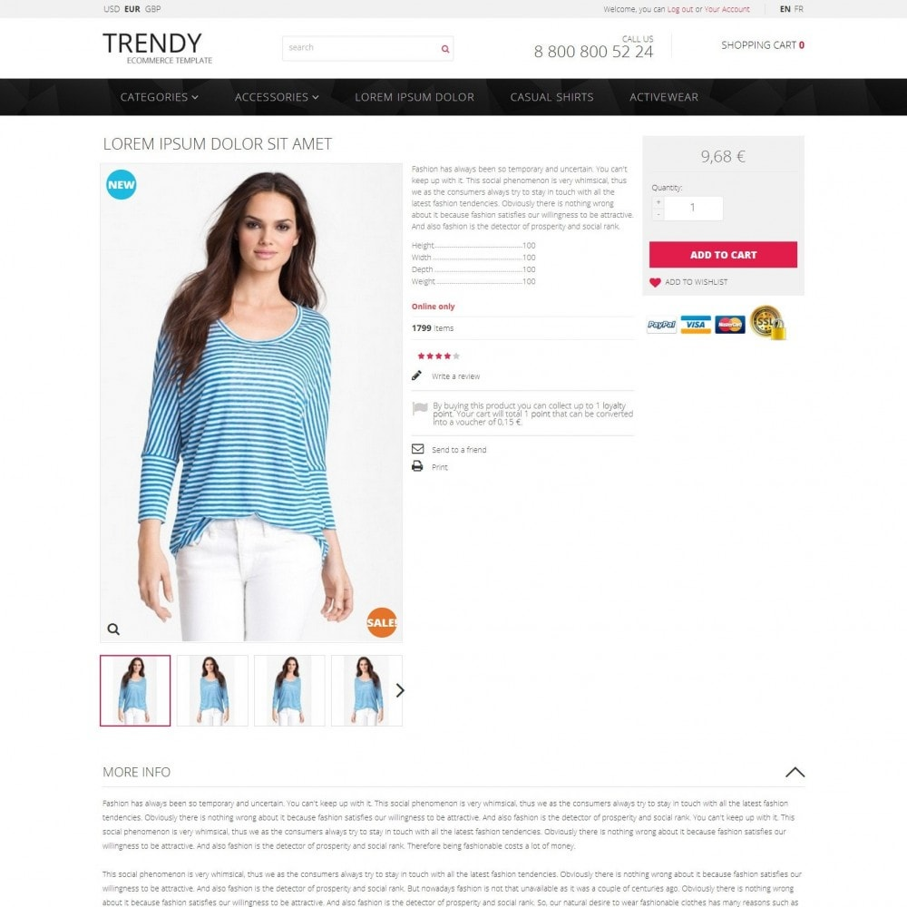theme - Moda y Calzado - Trendy - Tienda de Moda de Ropa Sale - 4