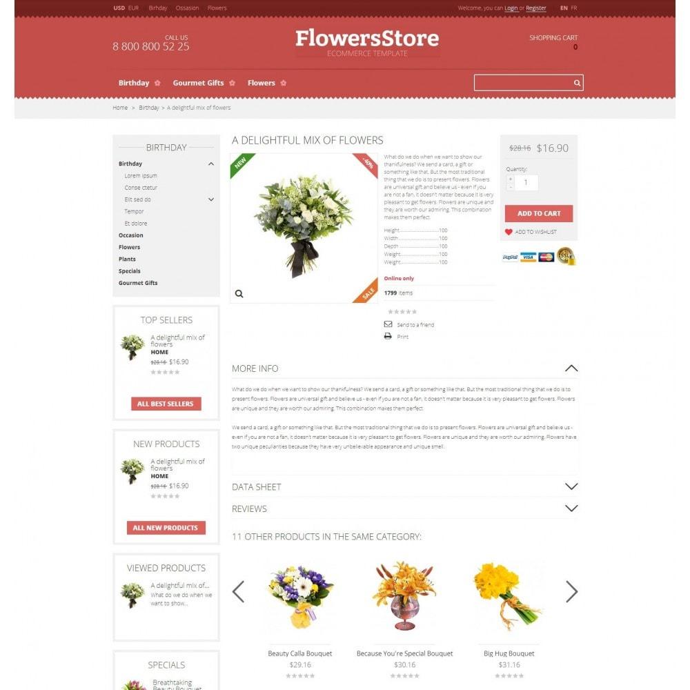 theme - Cadeaus, Bloemen & Gelegenheden - Floweris - Bloemen Shop - 4