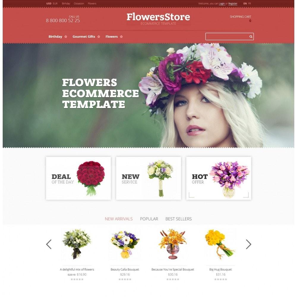 theme - Geschenke, Blumen & Feiern - Floweris - Blumen Shop - 2