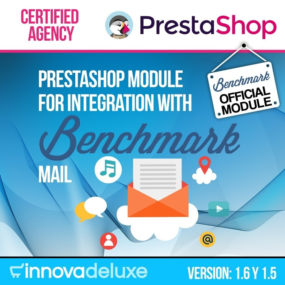 module - E-maile & Powiadomienia - Benchmark Email Marketing Integration - 1