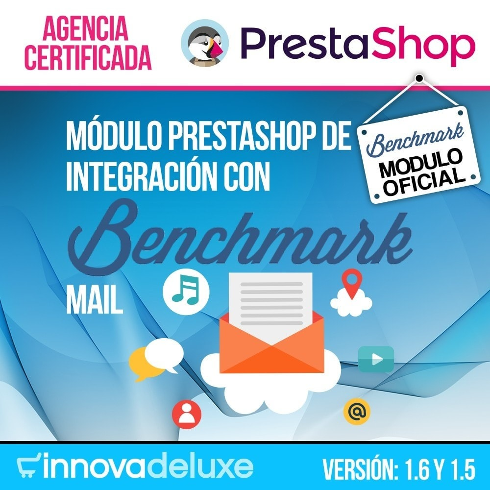 module - E-mails y Notificaciones - Integración con Benchmark Email Marketing - 1