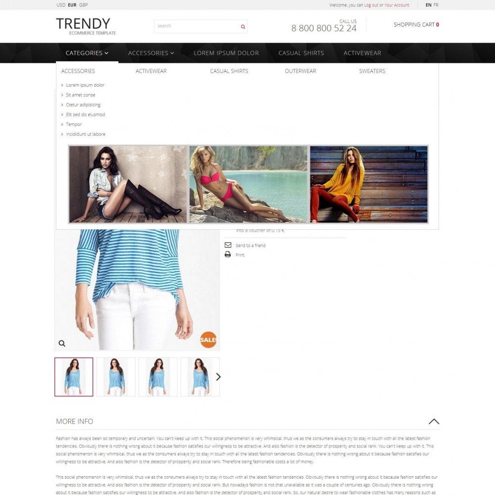 theme - Mode & Schuhe - Trendy - Modegeschäft Kleidung Sale - 5