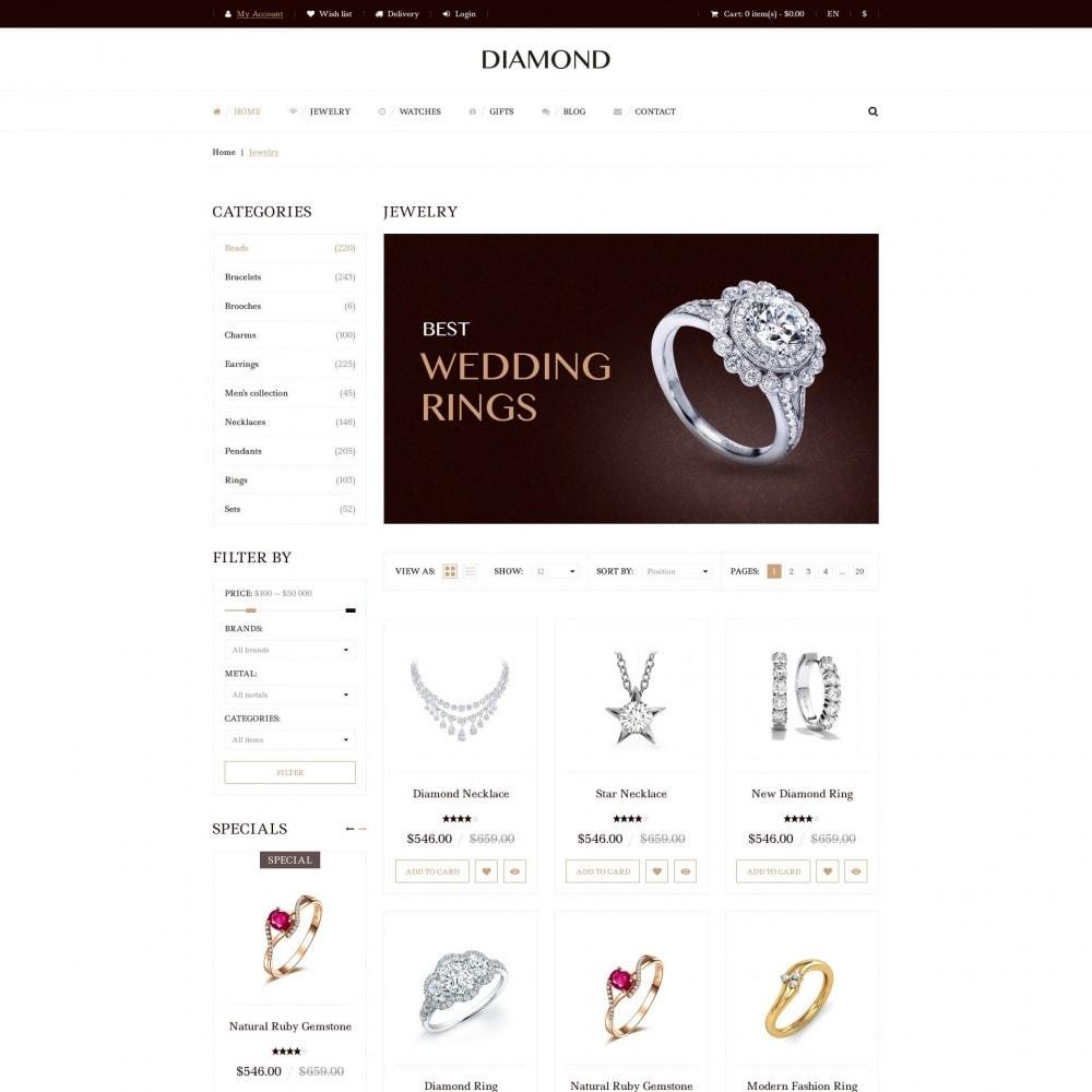 theme - Biżuteria & Akcesoria - Diamond - Sklep Jubilerski - 3