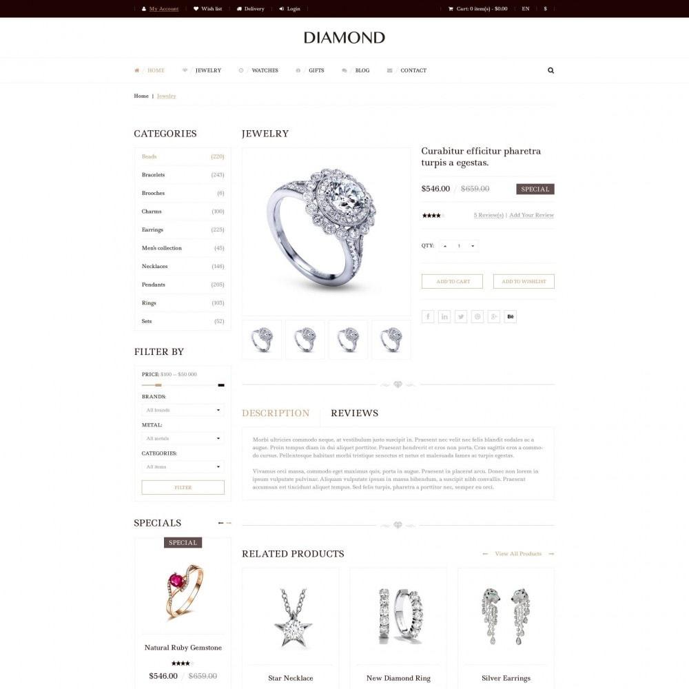 theme - Biżuteria & Akcesoria - Diamond - Sklep Jubilerski - 4