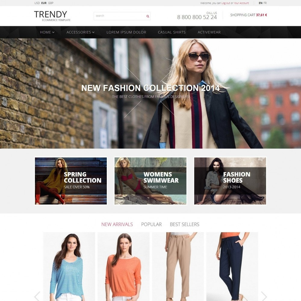theme - Moda & Calçados - Trendy - Loja de Moda Roupas - 2