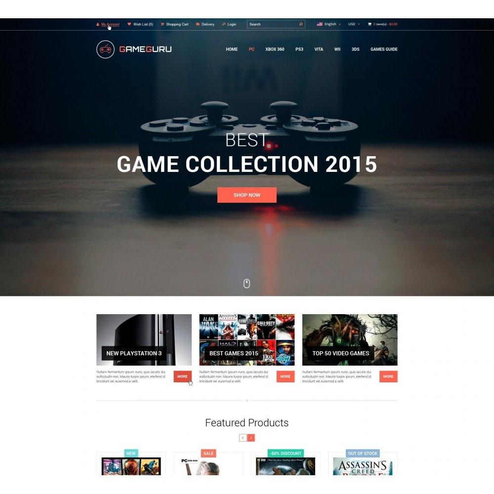 theme - Electrónica e High Tech - Gameguru - Juega Juegos Tienda - 2
