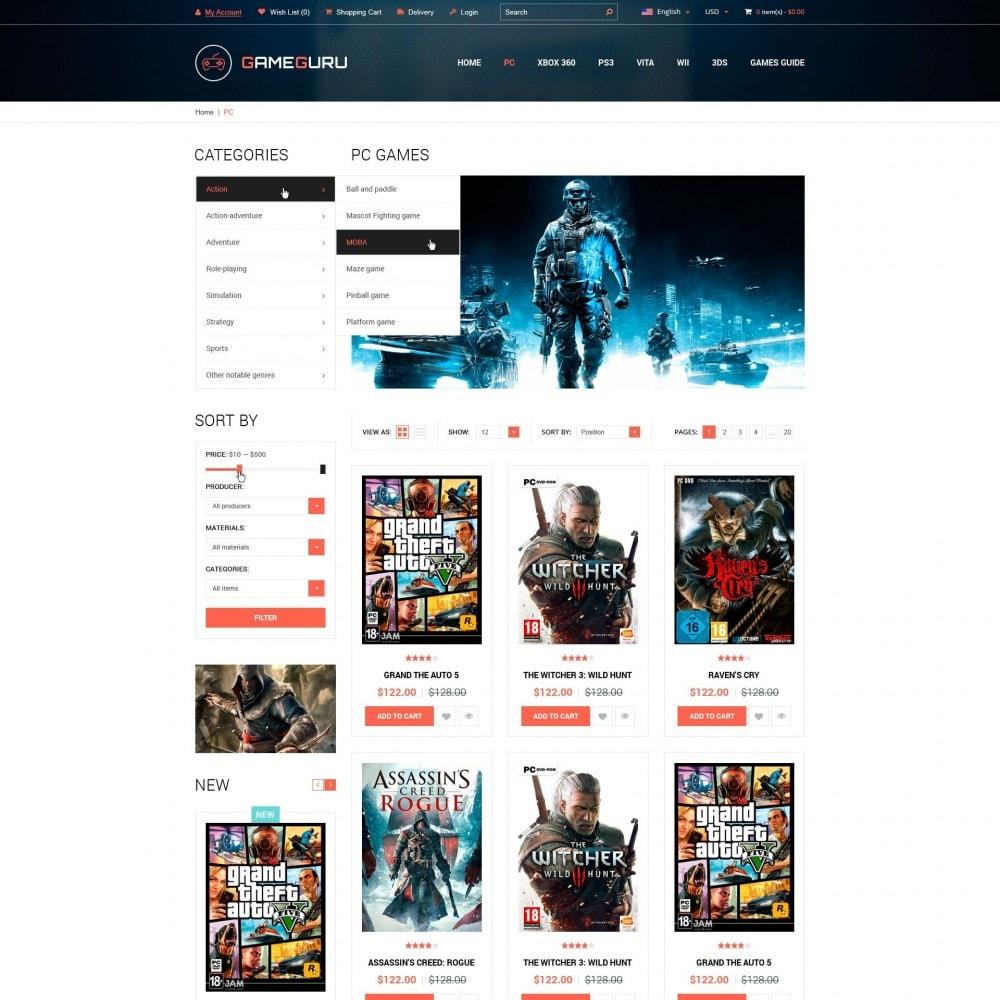 theme - Electrónica e High Tech - Gameguru - Juega Juegos Tienda - 3