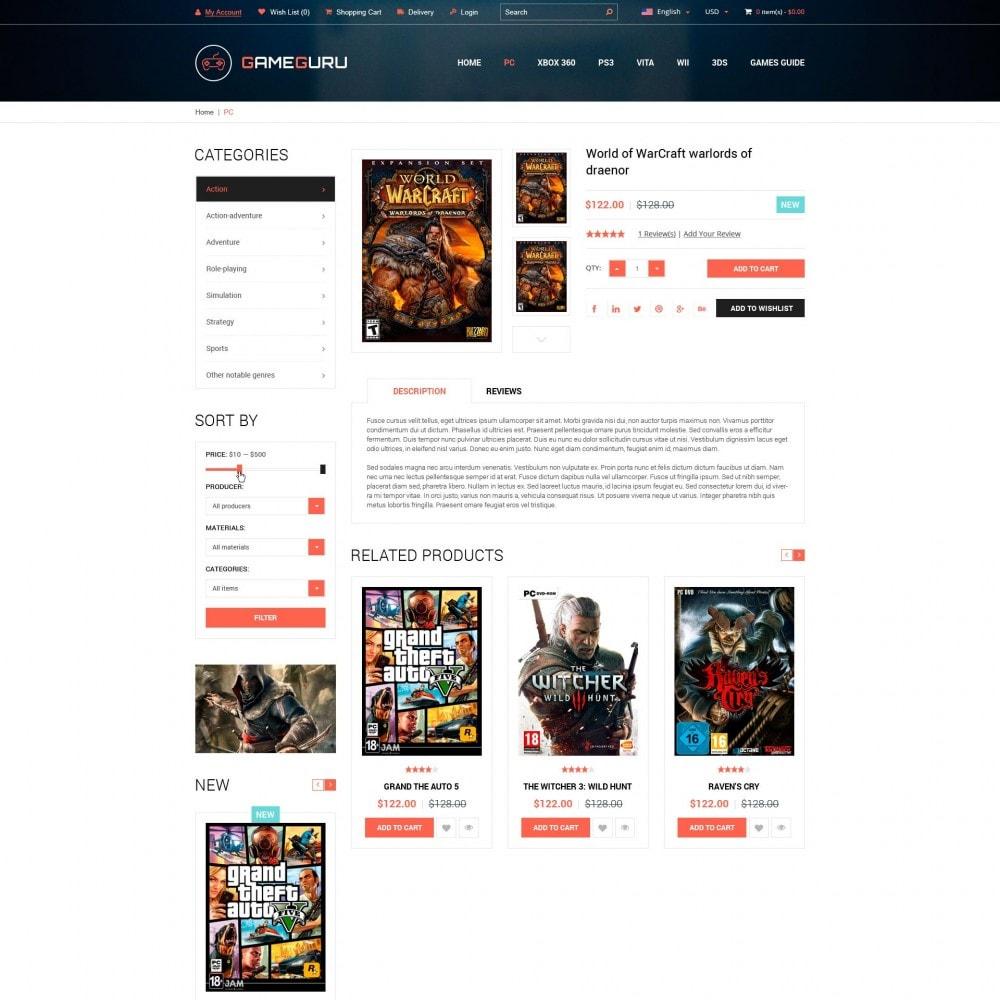 theme - Electrónica e High Tech - Gameguru - Juega Juegos Tienda - 4